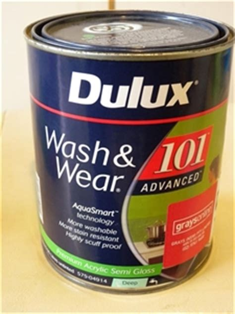 Sale Dulux 101 dulux wash wear 101 advanced premium acrylic semi gloss