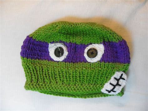 knitting pattern for ninja turtles 1000 images about knitted children s hats on pinterest