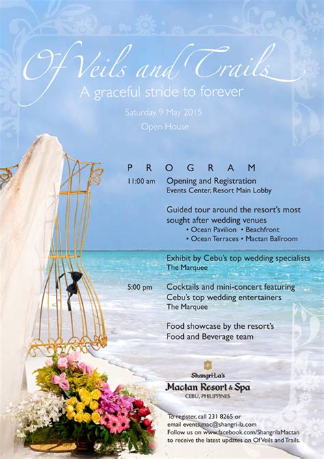 spa bridal shower packages philippines of veils and trails shangri la s mactan resort and spa