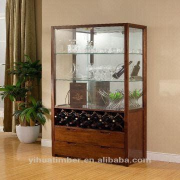 2015 wooden dining set furniture glass wine cabinet wine