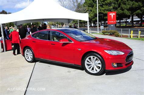 Tesla Car Test Drive Tesla Model S Testdrive 2014