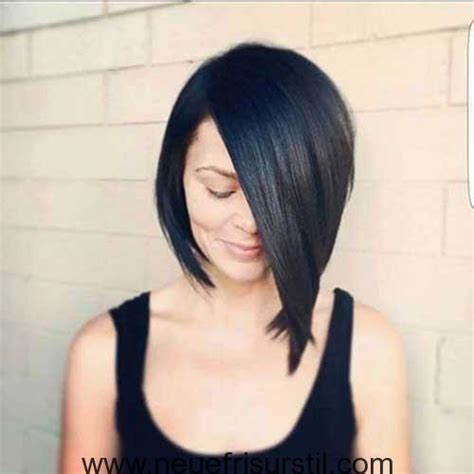 how to cut the perfect asymmetrical bob on thick hair neueste trend asymmetrische bob haarschnitte neue frisur
