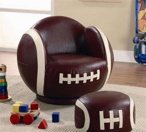 Football Furniture football shaped furniture football chair and ottoman