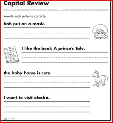 Grade Reading And Writing Worksheets by 1st Grade Writing Activities Project Edu Hash