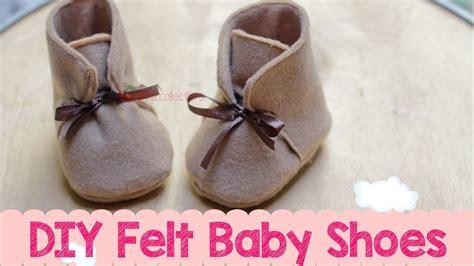 Sandal Motif Flanel diy felt baby boots shoes membuat sepatu boot bayi