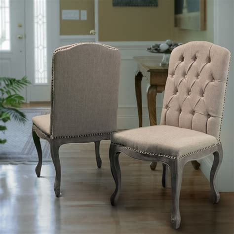 fabric chairs for dining room contemporary living space featuring beige fabric dining chairs