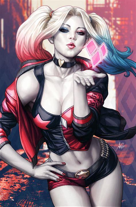 Baju Anime Harley Quin 01 harley quinn or katana who s hotter topic comic vine