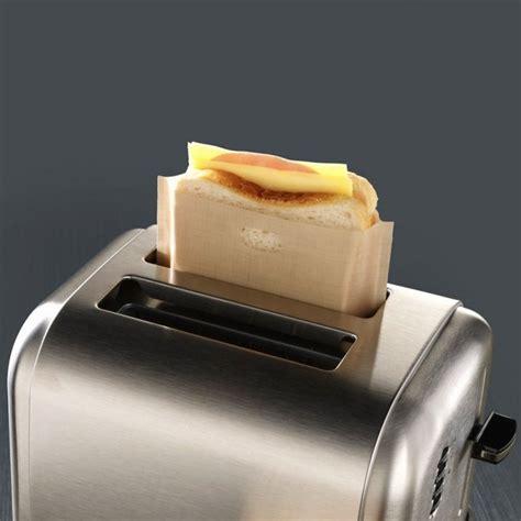 Toaster Pockets 5x reusable toaster toastie sandwich toast bags pockets