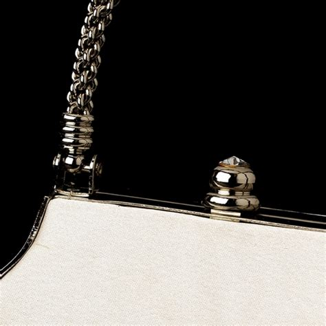 New Arrival Bna Bag Top Handle 2268 stunning ivory satin evening bag w silver rope handle rhinestone closure 8022