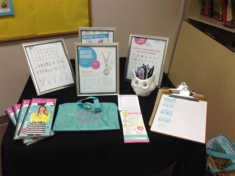 Origami Owl Events - vendor event info table origami owl jewelry bar ideas