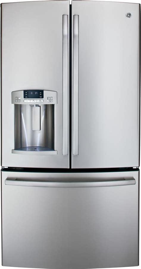 ge 28 6 door refrigerator ge gfe29hsdss 28 6 cu ft door refrigerator with