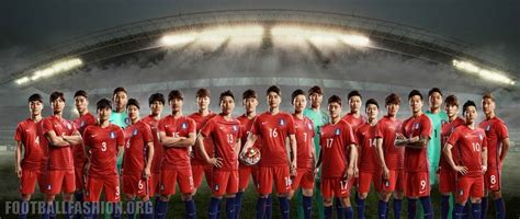 new year in south korea 2016 south korea 2016 17 nike home and away kits football