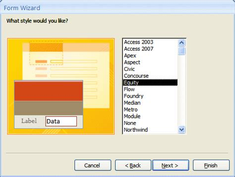 open form in layout view access lesson 09 the characteristics of a form