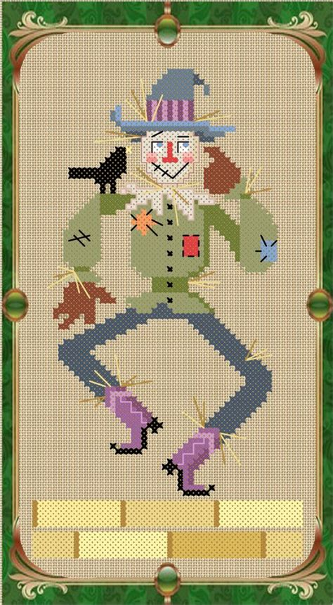 free pattern wizard scarecrows brooke d orsay and wizards on pinterest