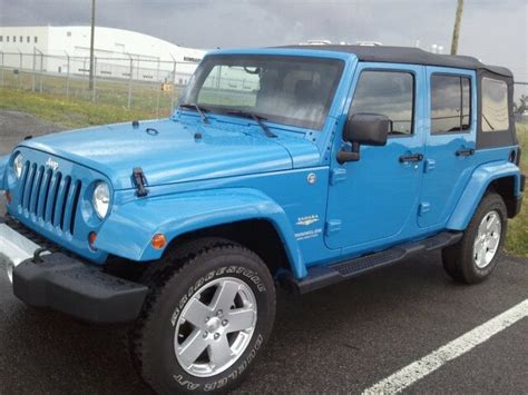 blue jeep accessories baby blue jeep wrangler