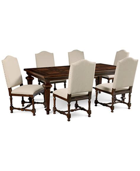 cortwright 7 dining set expandable dining table 6