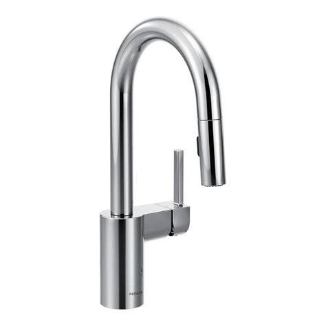 moen bar faucet moen arbor single handle pull down sprayer bar faucet