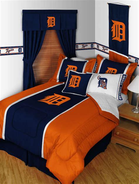 Detroit Tigers Crib Bedding Detroit Tigers Mlb Microsuede Comforter Sheet Set