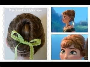 coronation hair treatment frozen hairstyles anna coronation bun disney inspired