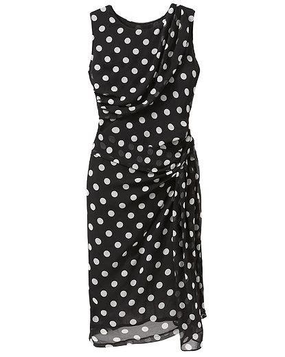 Black White Dot Dress W8179uzi D polka dot dresses archives my fashion wants