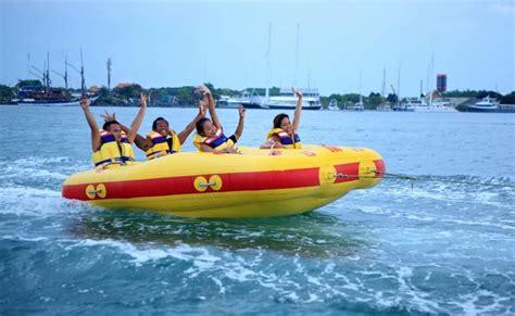 donut boat donut boat ride at south kuta in bali thrillophilia