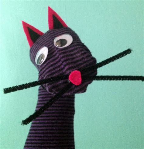 cat sock puppet pin by weaver on for the boys