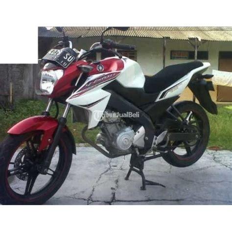 Harga Tengah Vixion motor yamaha vixion bekas putih merah tahun 2013 plat ad