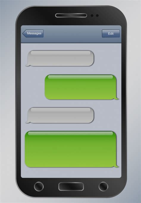 Iphone Sms Template by Collection Of Blank Iphone Text Message Template Best