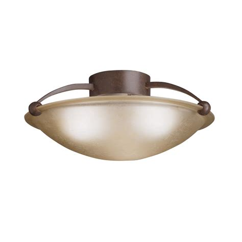 Contemporary Flush Mount Ceiling Lights Kichler Lighting 8406tz Contemporary Semi Flush Mount Ceiling Light Kch 8406 Tz