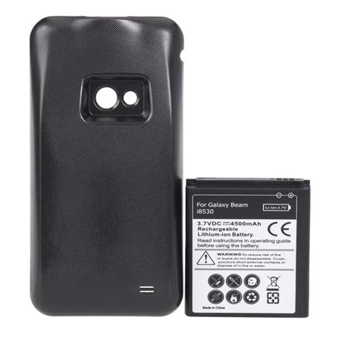 Battery Future Power Samsung Galaxy Beami8530 batteries 4500mah extended battey with back cover for samsung galaxy beam i8530 was listed for