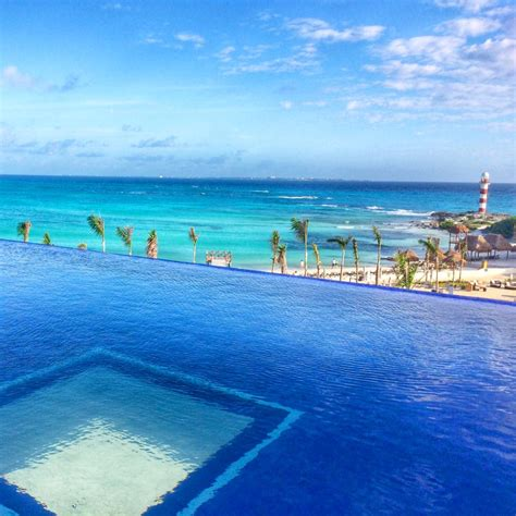 Wedding Anniversary Getaways by The Adults Only Pool At Hyatt Ziva Cancun Might Be Our New
