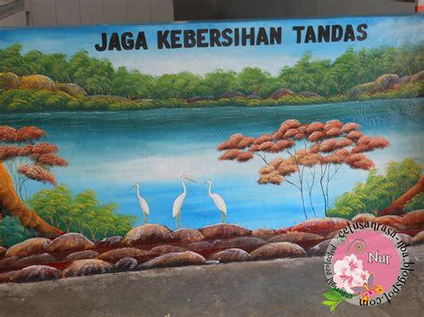 cetusan rasa cantiknya lukisan mural ni