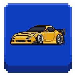 pixel car racer hileli mod apk indir tam oyun oyun indir