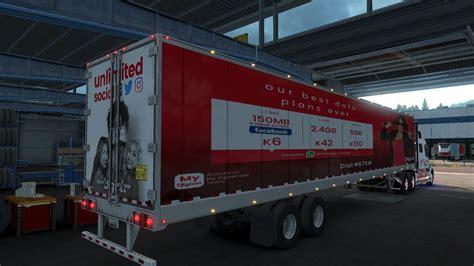 volvo vnl  combo skin  mod euro truck simulator  mods