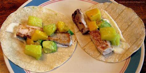 gluten free fish tacos with mango pineapple salsa recipe