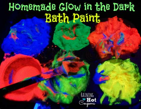 how to make glow in the paint diy paint