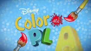 color play disney color and play app tv spot drawings come to