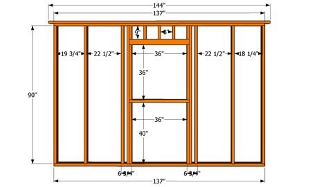 wall blueprints diy 12 215 16 storage shed plans custom house woodworking