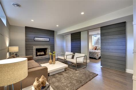 modern basements 30 basement designs to inspire your lower level the