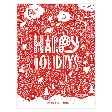 happy holidays photo card template free 11 happy card templates images happy
