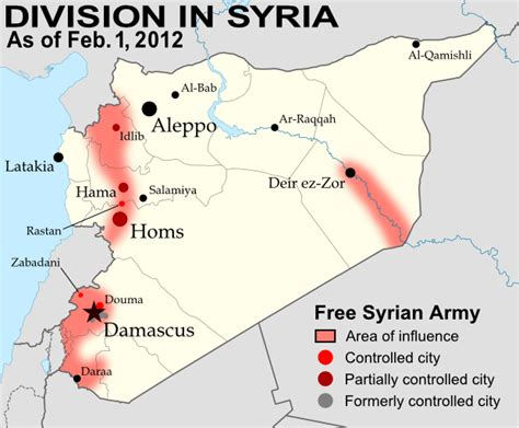 template syrian civil war detailed map wikipedia