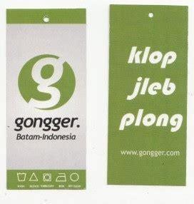 Hangtag Label Baju Exklusive hang tag baju
