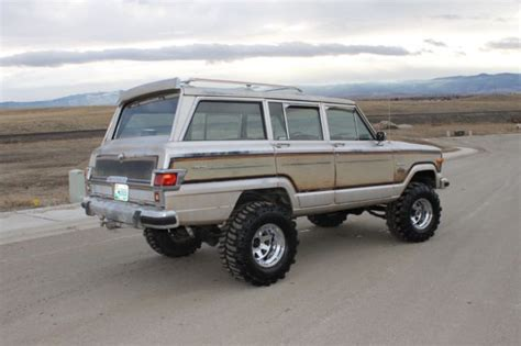Jeep Grand Wagoneer For Sale 1982 Jeep Grand Wagoneer Limited 4x4 Lifted Runs Like A