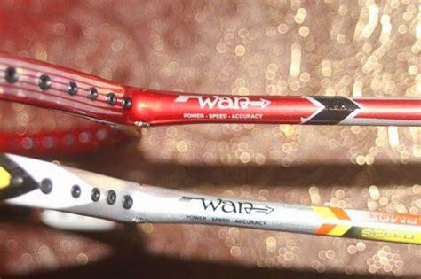 Raket Di Malaysia raket buatan malaysia saingi jenama antarabangsa apa hal ek