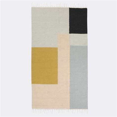 ferm living rug kelim squares rug by ferm living burke decor