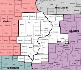 Iowa Illinois Map by About The Nws Quad Cities Forecast Office