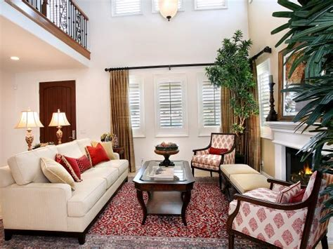 how to decorate a small livingroom living room ideas decorating decor hgtv