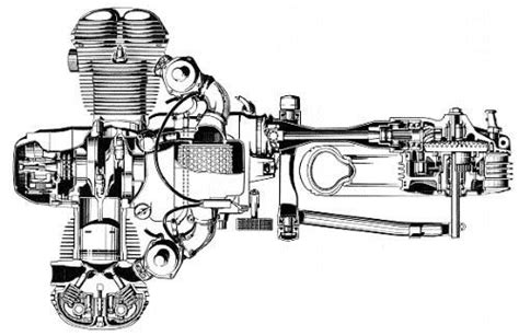 bmw  engine  driveline cutaway bmw motorcycles