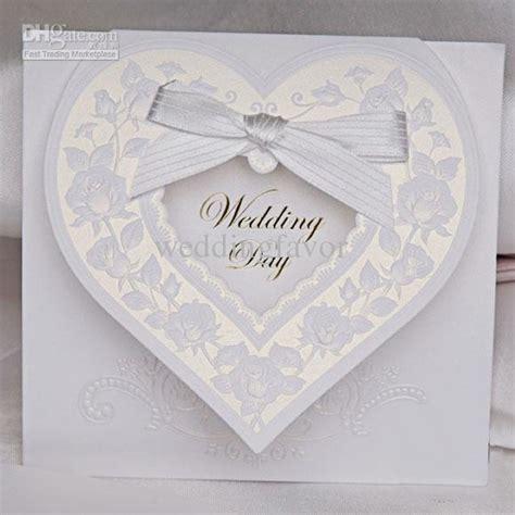 Shaped Wedding Invitation Cards