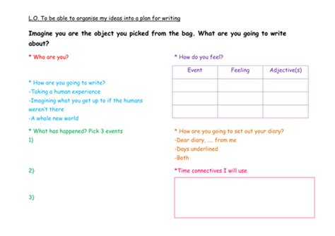 diary writing ks2 by dillydinsoaur teaching resources tes